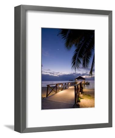 Luxury Resort, Malolo Island, Mamanuca Group, Fiji-Michele Falzone-Framed Premium Photographic Print