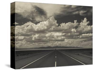 Jujuy Province, Salinas Grande Salt Pan, Rn 52 Highway, Argentina-Walter Bibikow-Stretched Canvas Print