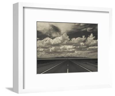 Jujuy Province, Salinas Grande Salt Pan, Rn 52 Highway, Argentina-Walter Bibikow-Framed Photographic Print