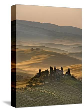 Italy, Tuscany, Siena District, Orcia Valley, Podere Belvedere Near San Quirico D'Orcia-Francesco Iacobelli-Stretched Canvas Print