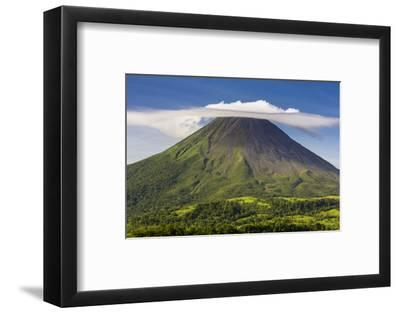 Arenal Volcano-Nick Ledger-Framed Photographic Print