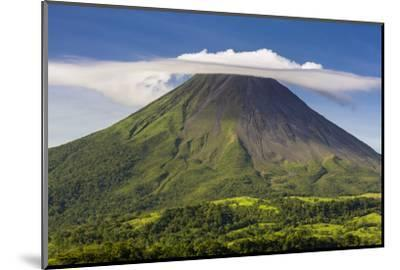 Arenal Volcano-Nick Ledger-Mounted Photographic Print