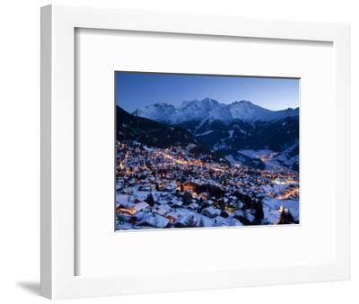 Verbier, Valais, Four Valleys Region, Switzerland-Gavin Hellier-Framed Photographic Print