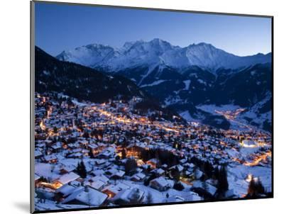 Verbier, Valais, Four Valleys Region, Switzerland-Gavin Hellier-Mounted Photographic Print