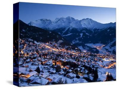 Verbier, Valais, Four Valleys Region, Switzerland-Gavin Hellier-Stretched Canvas Print