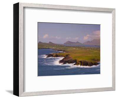 Ballyferriter Bay from Clougher Head, Dingle Peninsula, County Kerry, Munster, Ireland-Doug Pearson-Framed Photographic Print
