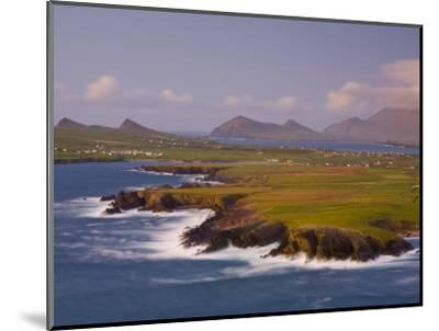 Ballyferriter Bay from Clougher Head, Dingle Peninsula, County Kerry, Munster, Ireland-Doug Pearson-Mounted Photographic Print