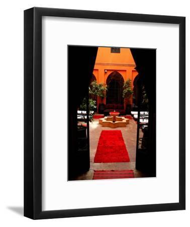 Les Bains De Marrakesh, Marrakesh, Morocco-Doug McKinlay-Framed Photographic Print