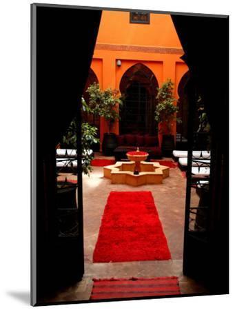 Les Bains De Marrakesh, Marrakesh, Morocco-Doug McKinlay-Mounted Photographic Print