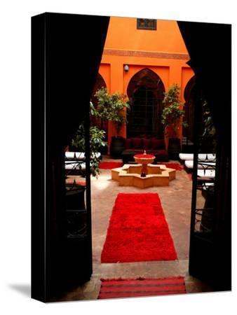 Les Bains De Marrakesh, Marrakesh, Morocco-Doug McKinlay-Stretched Canvas Print