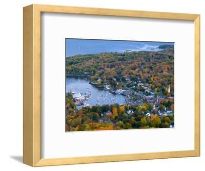 Camden, Maine, USA-Alan Copson-Framed Photographic Print