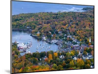 Camden, Maine, USA-Alan Copson-Mounted Photographic Print