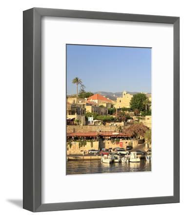 Lebanon, Byblos, Harbour-Michele Falzone-Framed Photographic Print
