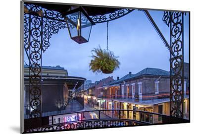 Louisiana, New Orleans, French Quarter, Bourbon Street-John Coletti-Mounted Photographic Print