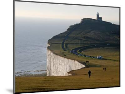 East Sussex, Beachy Head Is a Chalk Headland on South Coast of England, England-David Bank-Mounted Photographic Print