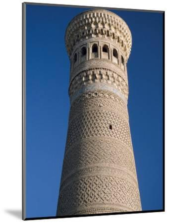 Kalyan Minaret Which Allegedly Awed Genghis Khan-Amar Grover-Mounted Photographic Print