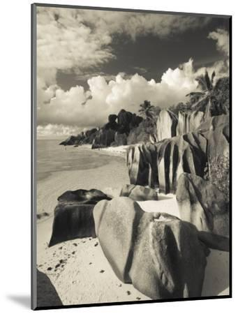 Seychelles, La Digue Island, L'Union Estate Plantation, Anse Source D'Argent Beach-Walter Bibikow-Mounted Photographic Print