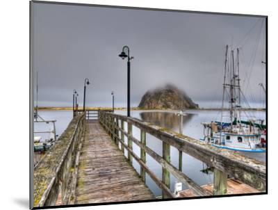 California, Morro Bay, Morro Rock, USA-Alan Copson-Mounted Photographic Print