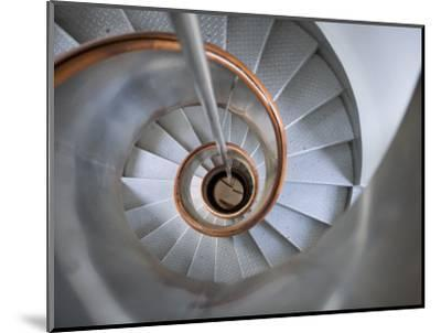 Staircase in Capelinhos Lighthouse-Holger Leue-Mounted Photographic Print