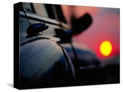 Chevrolet Bel-Air at Sunset, Cienfuegos, Cuba-Christopher P Baker-Stretched Canvas Print