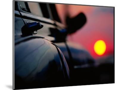 Chevrolet Bel-Air at Sunset, Cienfuegos, Cuba-Christopher P Baker-Mounted Photographic Print