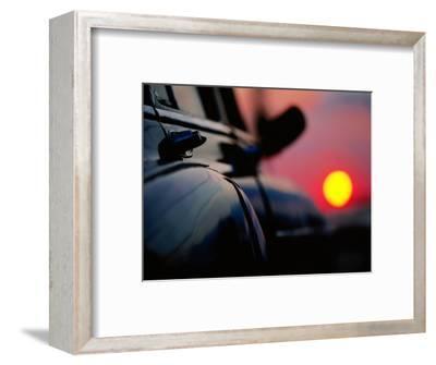 Chevrolet Bel-Air at Sunset, Cienfuegos, Cuba-Christopher P Baker-Framed Photographic Print
