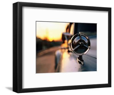Side Mirror on 1950s Car, Santiago De Cuba, Cuba-Christopher P Baker-Framed Photographic Print