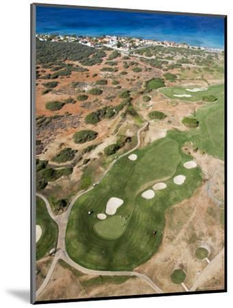 Aerial of Tierra Del Sol Golf Course-Holger Leue-Mounted Photographic Print
