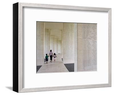 American Memorial Cemetery at Pateros-Greg Elms-Framed Photographic Print