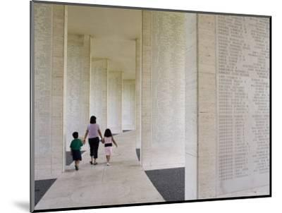 American Memorial Cemetery at Pateros-Greg Elms-Mounted Photographic Print
