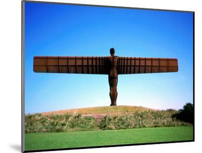 Giant Steel Structure of 'the Angel of the North-David Else-Mounted Photographic Print