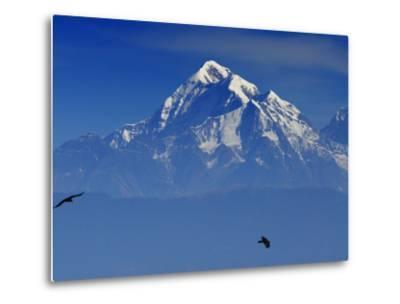 Sunrise on Nanda Devi Peak in Indian Himalayas-Michael Gebicki-Metal Print