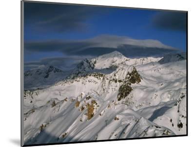 Bellecote Glacier, La Plagne, Savoy, France-Richard Nebesky-Mounted Photographic Print