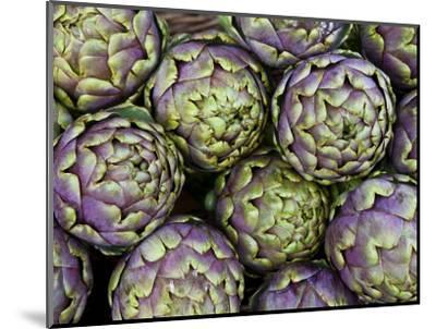 Artichokes for Sale at Market at Campo De' Fiori-Richard l'Anson-Mounted Photographic Print