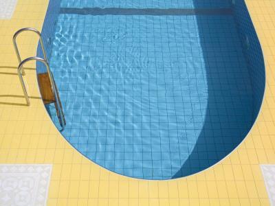 Swimming Pool-Richard Cummins-Framed Photographic Print