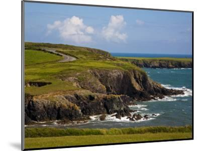 Dunabrattin Head, the Copper Coast, County Waterford, Ireland--Mounted Photographic Print