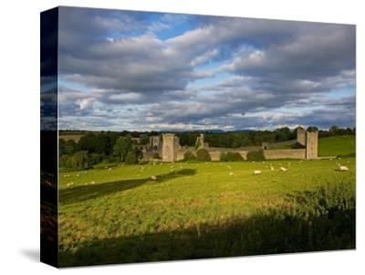 15th Century Walls around Augustinian Monestary, Kells, County Kilkenny, Ireland--Stretched Canvas Print