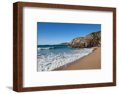 Coumeenoole Beach; Slea Head; Dingle Peninsula; County Kerry; Ireland--Framed Photographic Print
