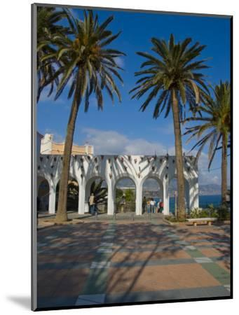 Balcon De Europa, Nerja, Costa Del Sol, Andalucia, Spain, Europe-Charles Bowman-Mounted Photographic Print