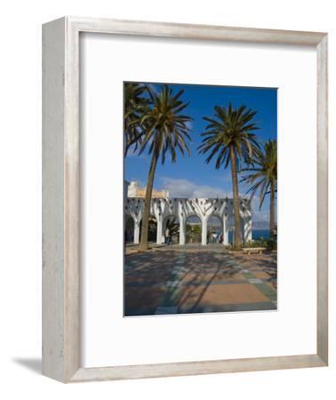 Balcon De Europa, Nerja, Costa Del Sol, Andalucia, Spain, Europe-Charles Bowman-Framed Photographic Print