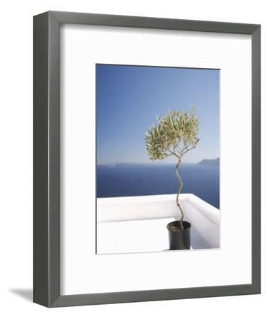 Santorini, Cyclades, Greek Islands, Greece, Europe-Angelo Cavalli-Framed Photographic Print