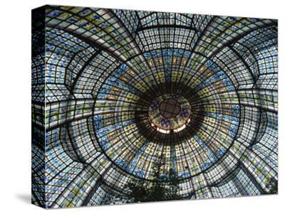 Printemps Department Store, Paris, France, Europe-Charles Bowman-Stretched Canvas Print