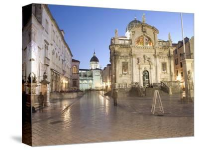 Dubrovnik, Croatia, Europe-Angelo Cavalli-Stretched Canvas Print