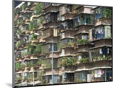 Detail of Housing, Guangzhou, China-Tim Hall-Mounted Photographic Print
