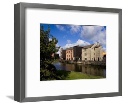 Wigan Pier, Lancashire, England, United Kingdom, Europe-Charles Bowman-Framed Photographic Print