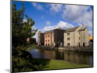 Wigan Pier, Lancashire, England, United Kingdom, Europe-Charles Bowman-Mounted Photographic Print