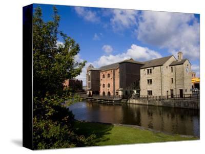 Wigan Pier, Lancashire, England, United Kingdom, Europe-Charles Bowman-Stretched Canvas Print