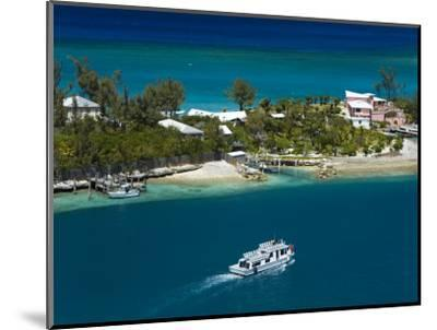 House on Paradise Island, Nassau, New Providence Island, Bahamas, West Indies, Central America-Richard Cummins-Mounted Photographic Print