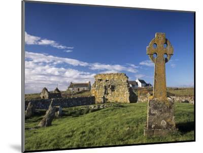 Medieval Burial Ground and Chapels, at Howmore, South Uist, Outer Hebrides, Scotland-Patrick Dieudonne-Mounted Photographic Print