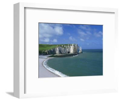 Falaises, Near Etretat, Haute Normandie, France-Hans Peter Merten-Framed Photographic Print